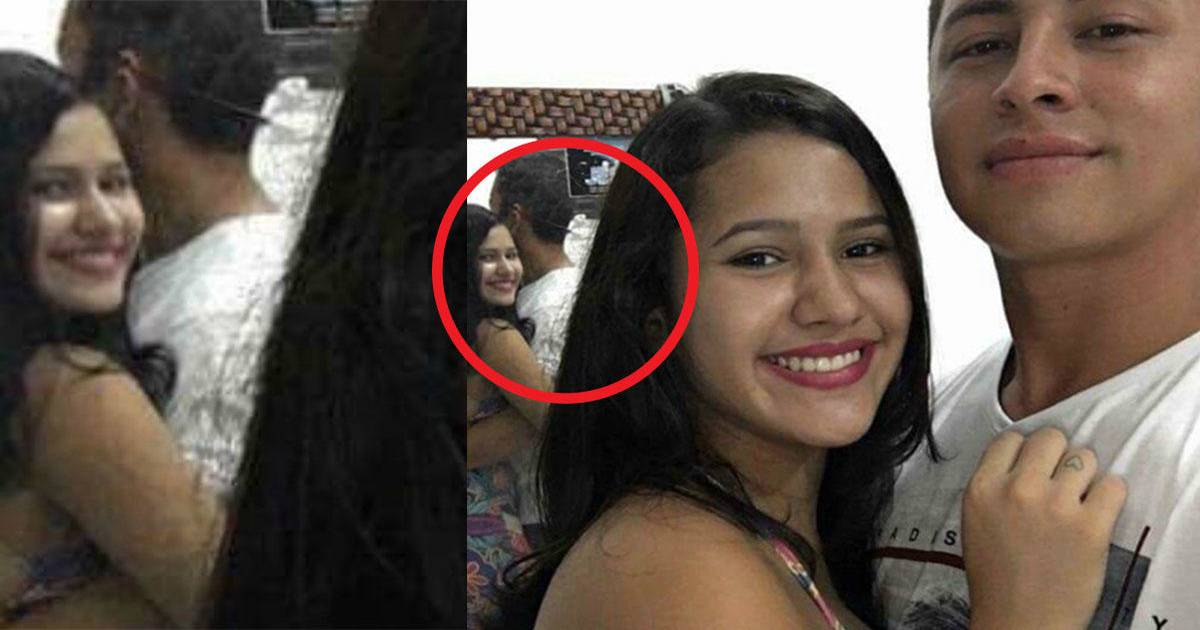 Cute Couple's Selfie Turns Creepy, Look At What The  Mirror Shows!