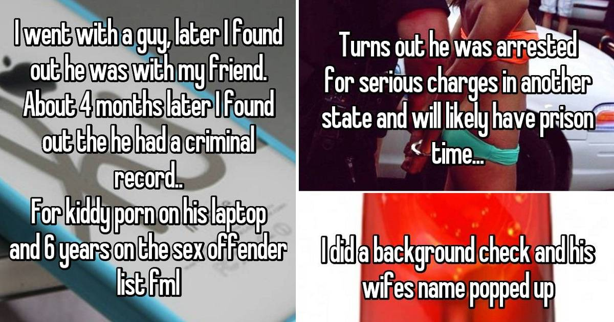 Creepy Things People Discovered From Background Checks.
