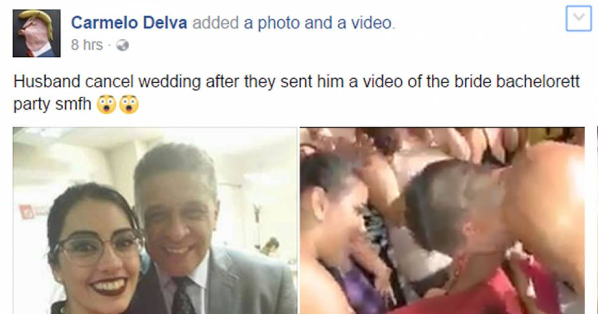 Omg! Groom Cancels Wedding After Seeing Video Of Bride Going Wild At Bachelorette Party