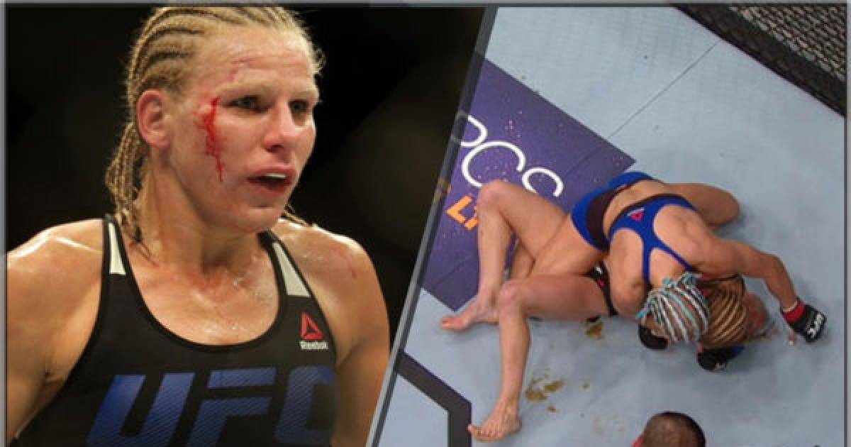 Shit Literally Happens As Female UFC Fighter Defecates Herself During Bout.