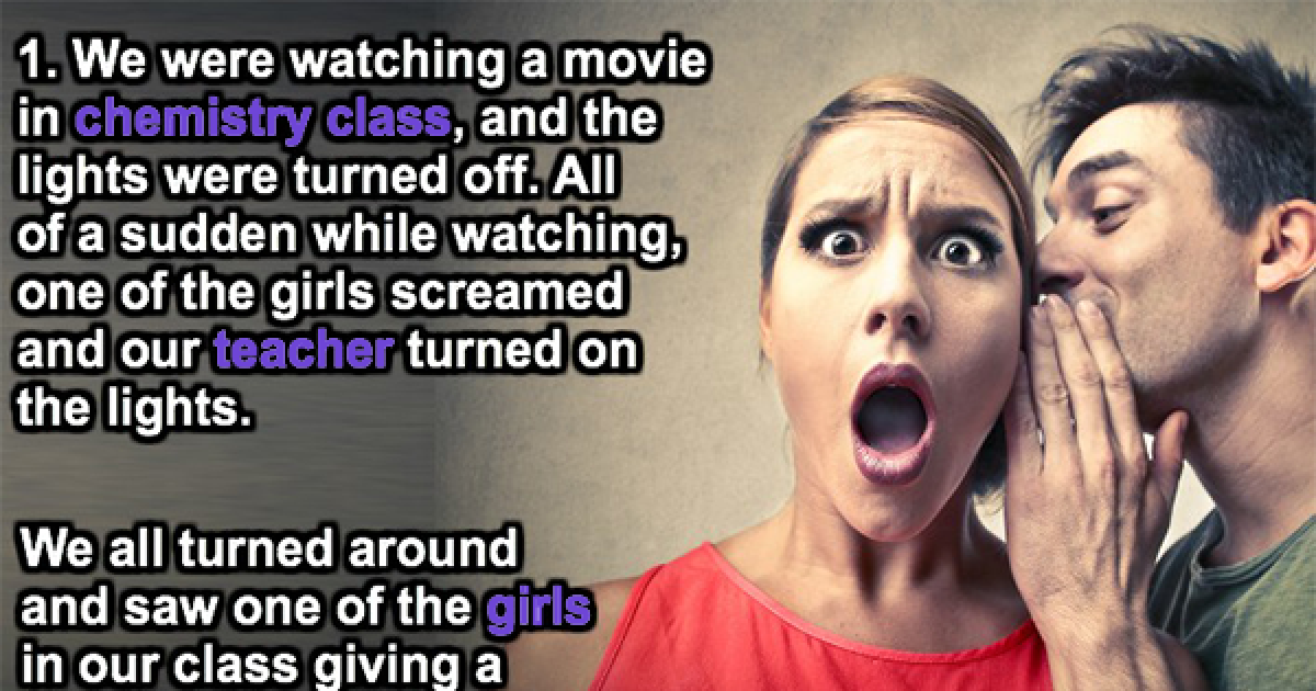 People Reveal The Biggest Scandal That Went Down At Their High School