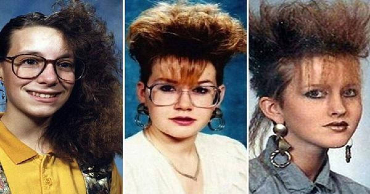 Terrible '80s Hairstyles That Will Leave You In Cringe City.