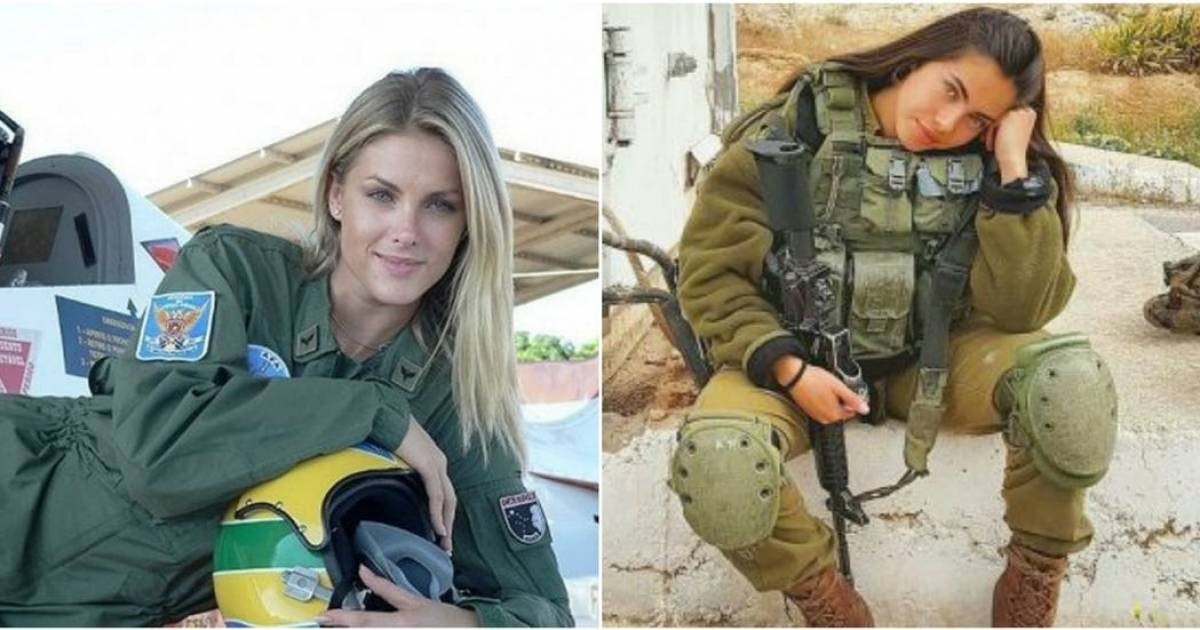 Gorgeous Female Soldiers From Around The World.