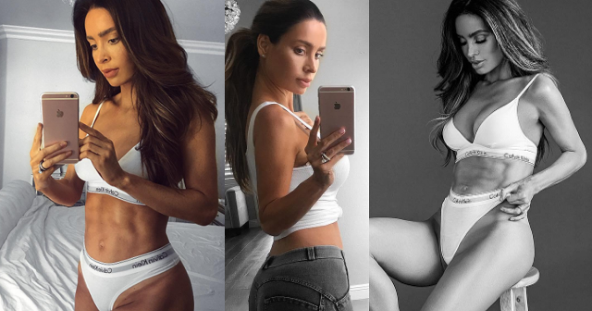 Believe It Or Not But This Model With Six Pack Abs Is Actually SIX MONTHS Pregnant!
