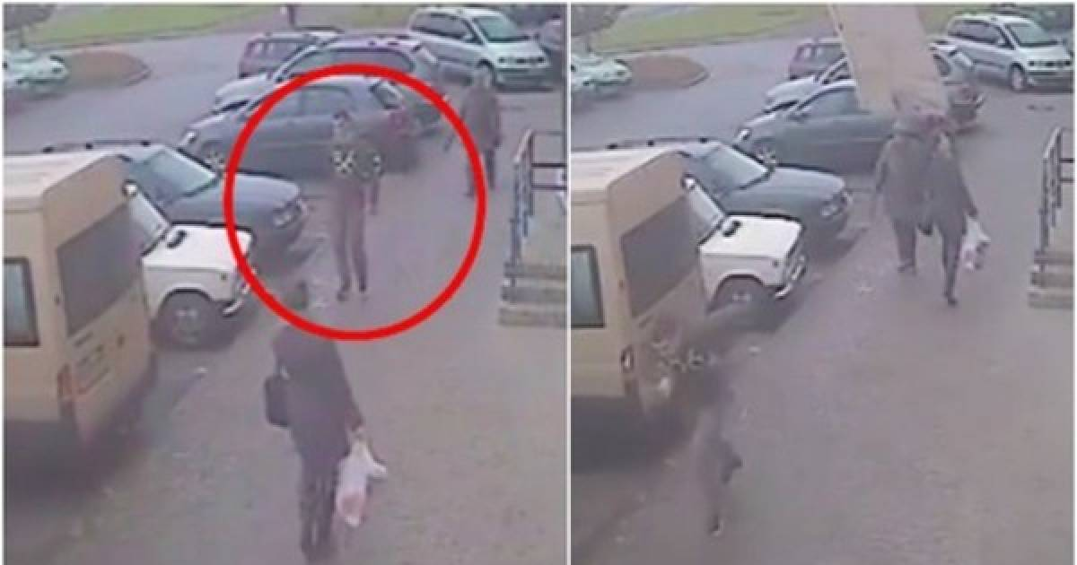 Man Is Nearly Killed By A Flying Slab Of Concrete While Taking Out The Trash