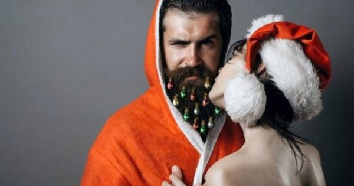 Why Are Some Men Turning Their Beards Into Christmas Trees?