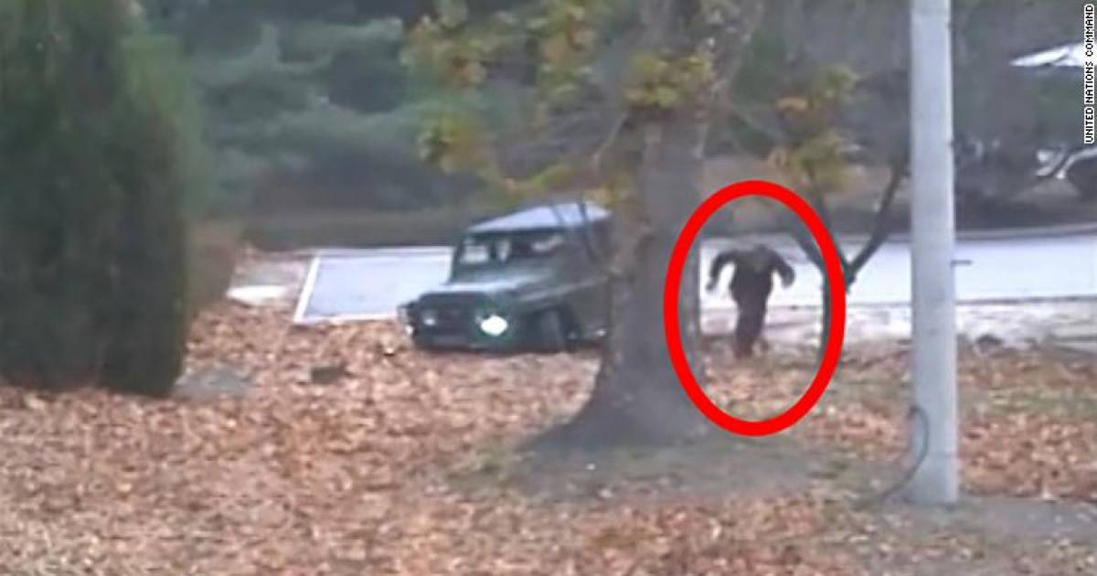 UN Releases Video Of North Korean Soldier Escaping To Freedom Across Border As Bullets Fly