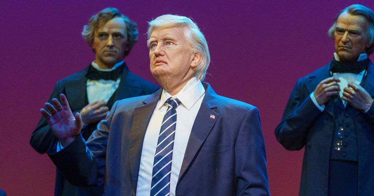 'Creepy' Donald Trump Robot Joins Disney's Hall Of Presidents. And It Talks.