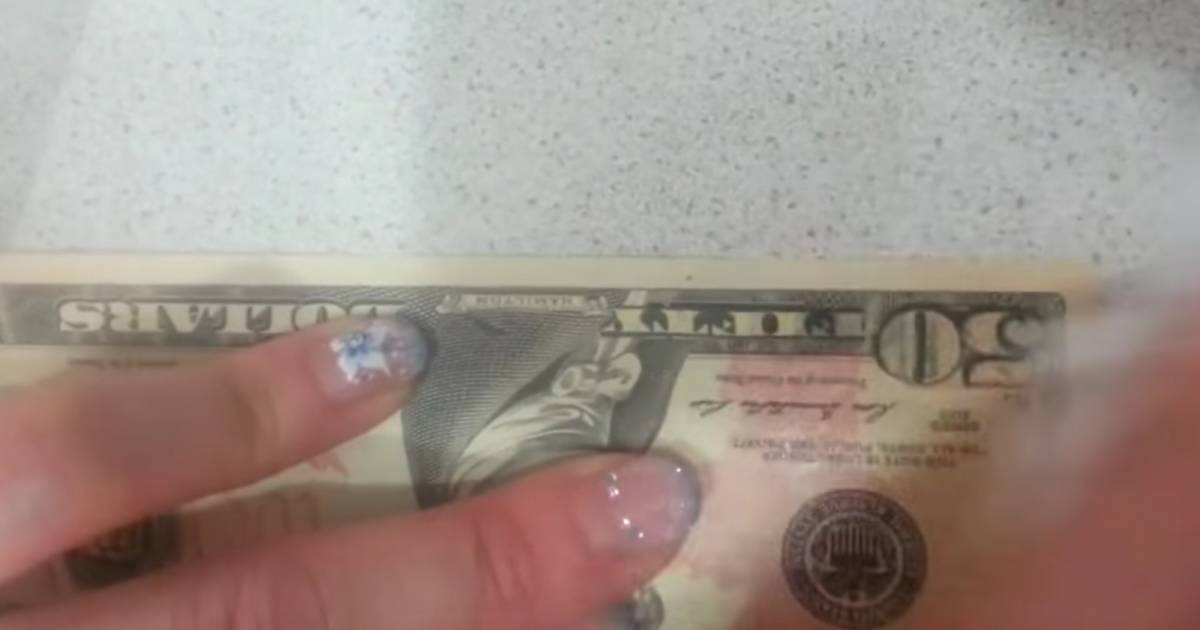 Woman Rubs Alcohol On A $50 What Happens Next? I'm At A Loss For Words.