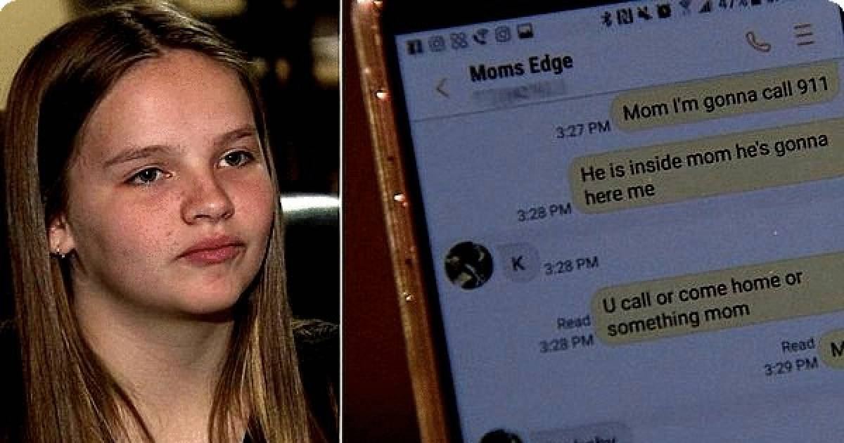 Brave Teenager Saves Neice During A Home Invasion