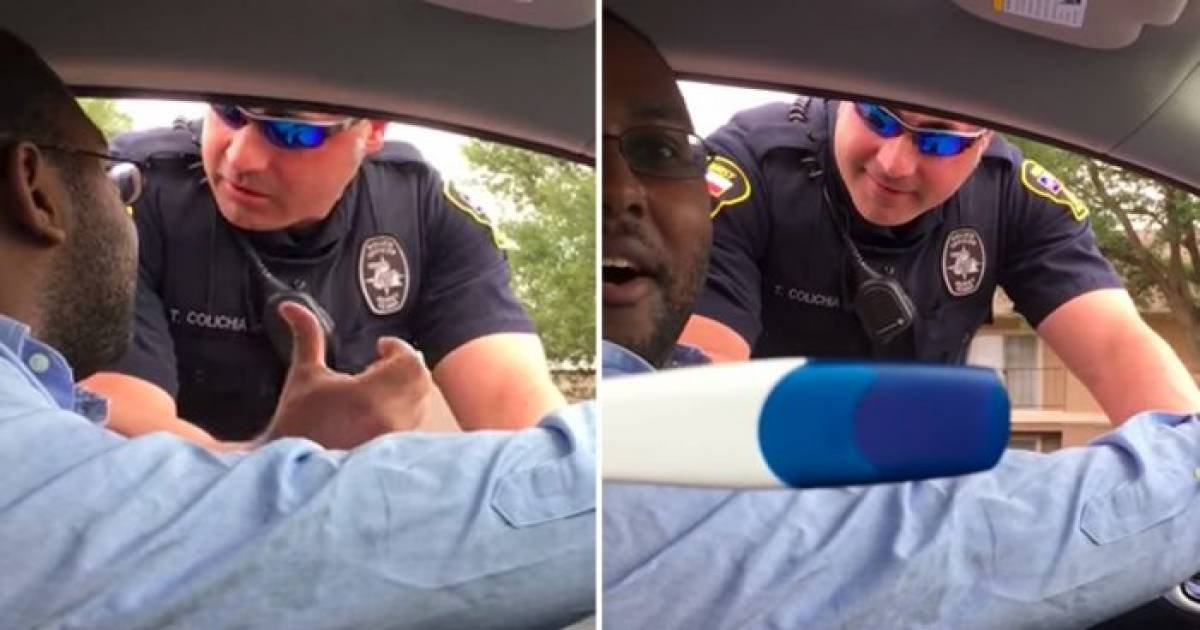 Cop Pulls Man Over Because Child Isn't In Seat, Then He Sees Wife's Pregnancy Test