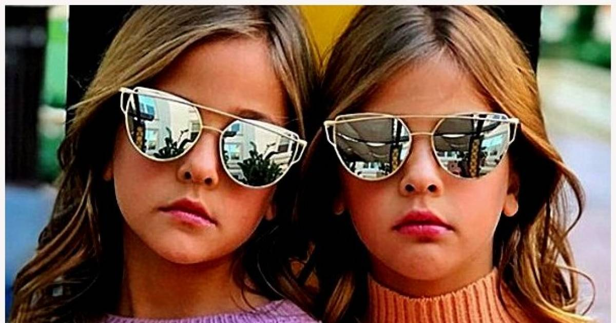"""These 7-Year-Old Twins Are Being Called """"The Most Beautiful Girls In The World"""""""