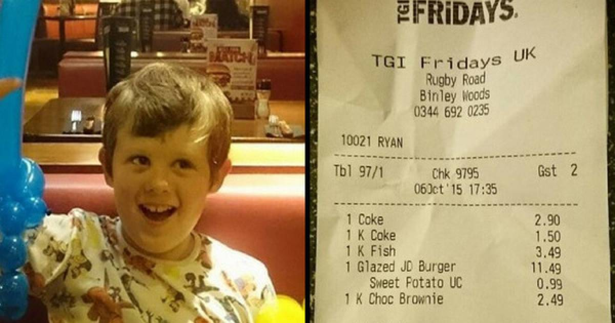 Upset Autistic Boy Was In For A Treat At This Awesome TGI Fridays