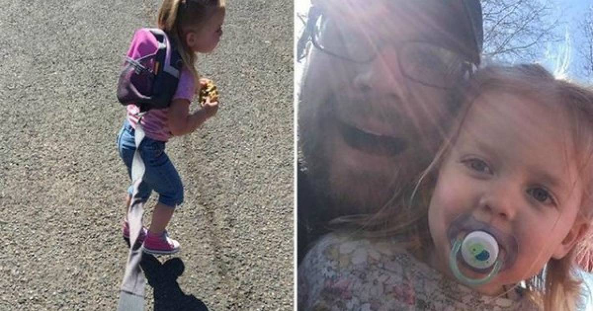 Dad Defends His Decision To Put His Three-Year-Old Daughter On A Leash
