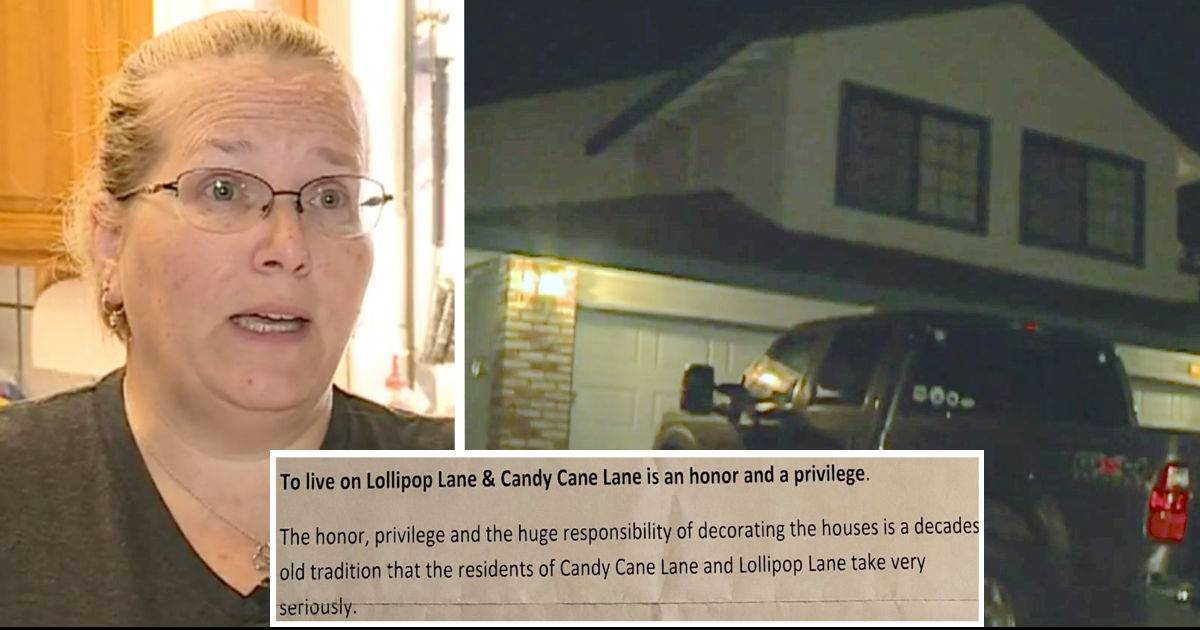 Grieving Family Who Did Not Put Up Christmas Decorations Recieved Cruel Note In Their Mailbox