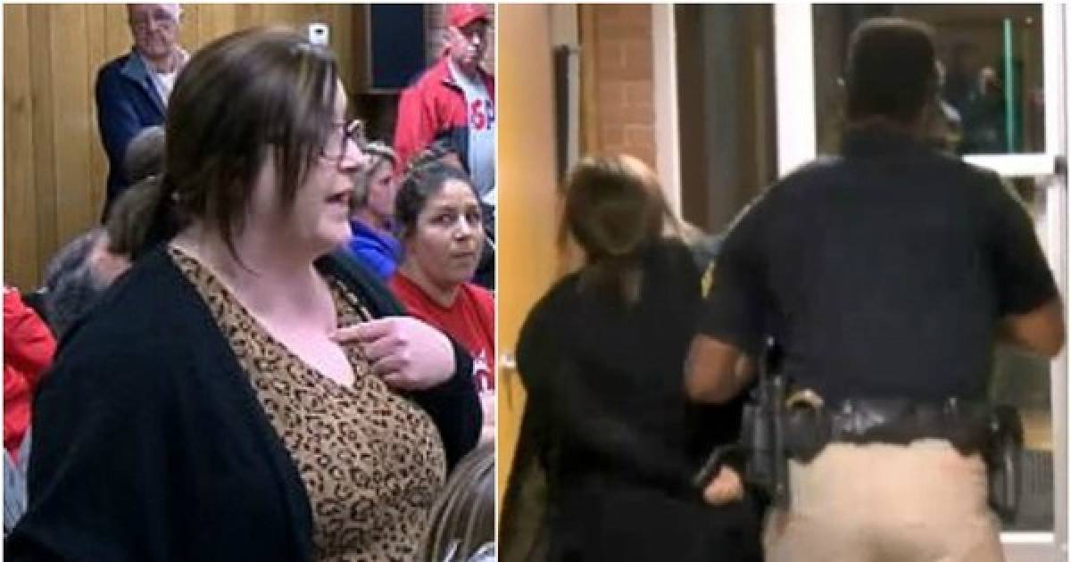 This Teacher Questioned The Superintendant's $39,000 Raise In Pay And Was Forcibly Arrested For It