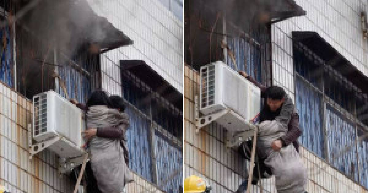 Humanity At Its Finest, Disabled Man In China Saves Pregnant Woman From A Burning Building