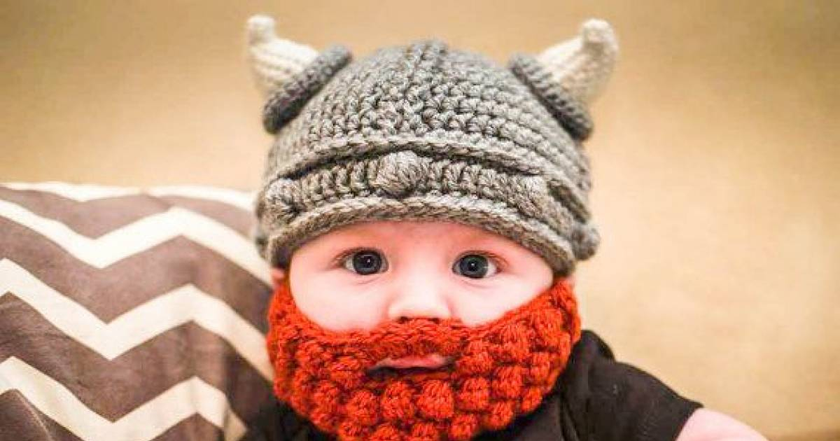 613421e6675 These Crochet Bearded Babies Are Making The Internet Go Crazy ...