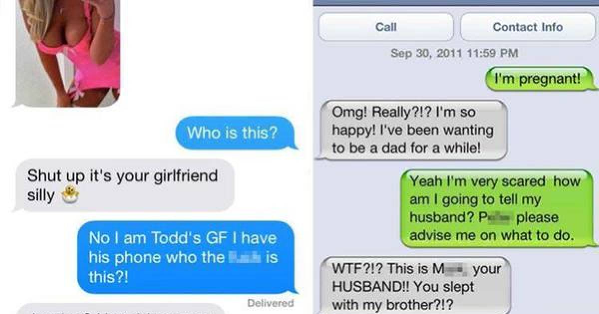Cheaters Caught Red Handed Thanks To Text Fails