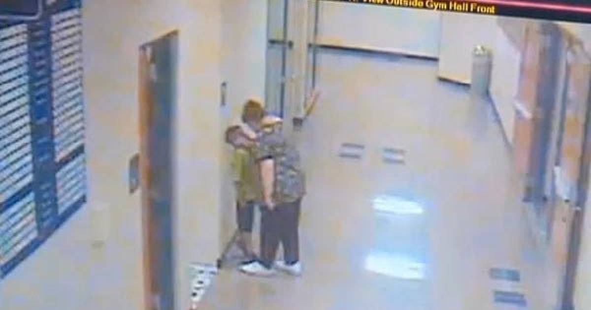 Shocking Video Reveals What Kindergarten Teacher Did To 6-Year-Old Student In The Hallway