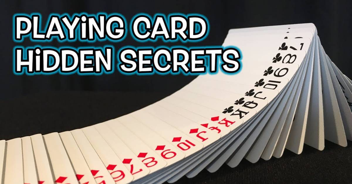 10 Little-Known Secrets In A Deck Of Playing Cards