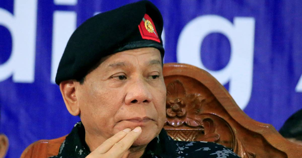 Philippines President Rodrigo Duterte Told His Soldiers To Shoot Female Rebels In Their Genitals