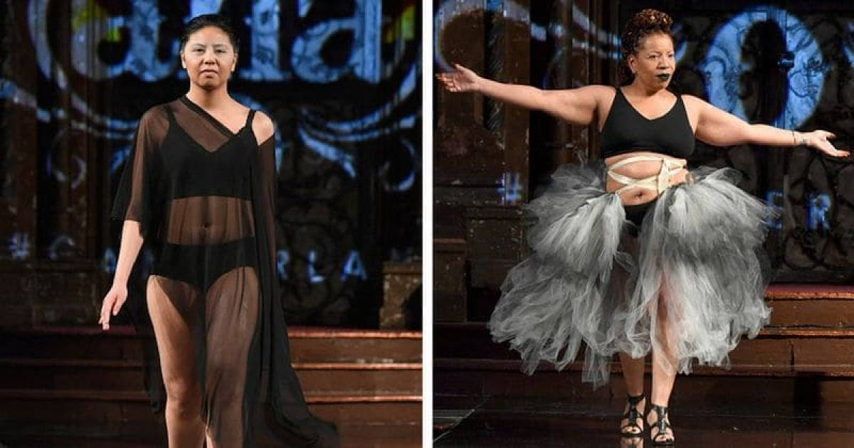 Breast Cancer Survivors Set The Ramp On Fire At New York Fashion Week