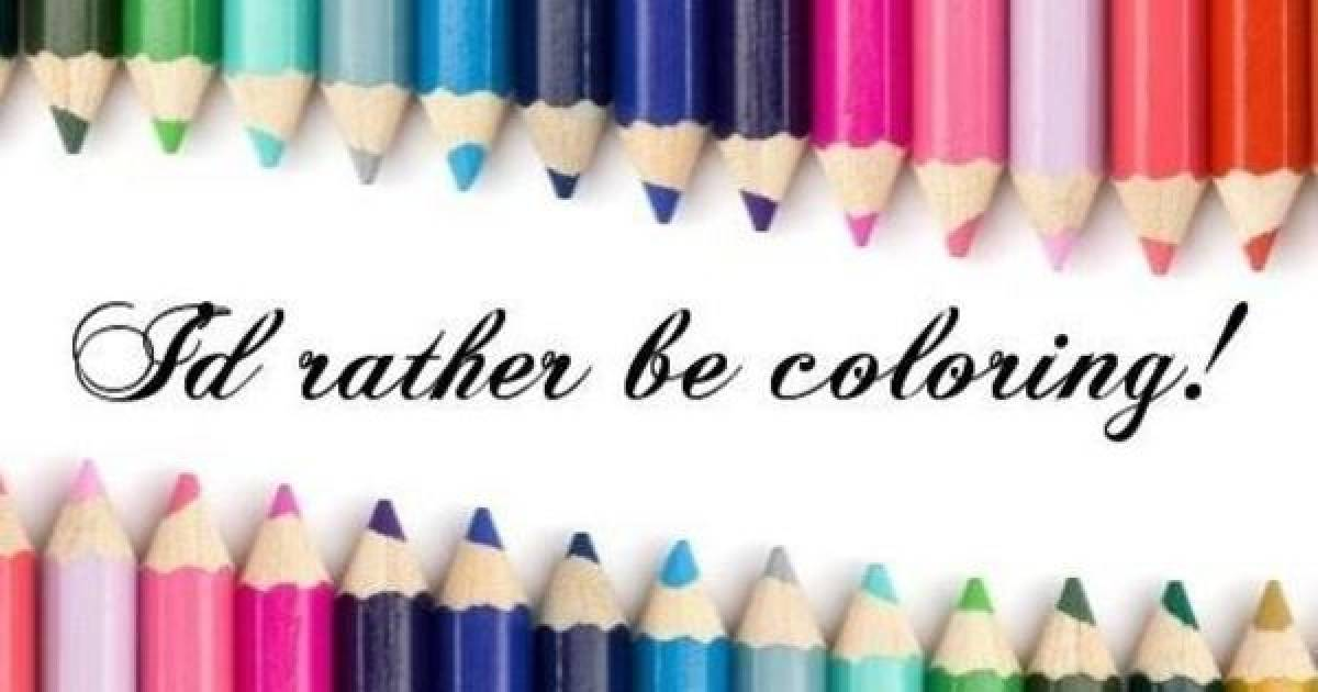 Check Out Our Top Ten Picks For Adult Coloring Books
