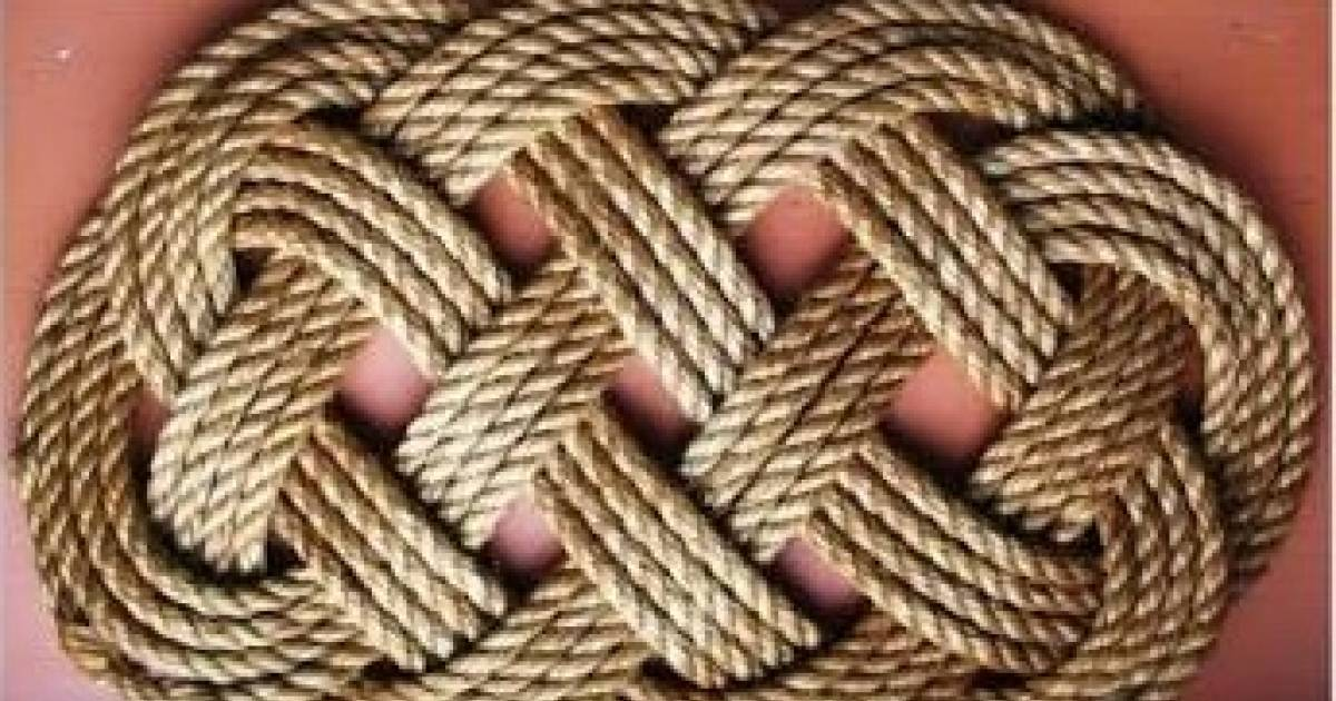 6 Brilliant Handmade Home Decor Rope DIY Projects