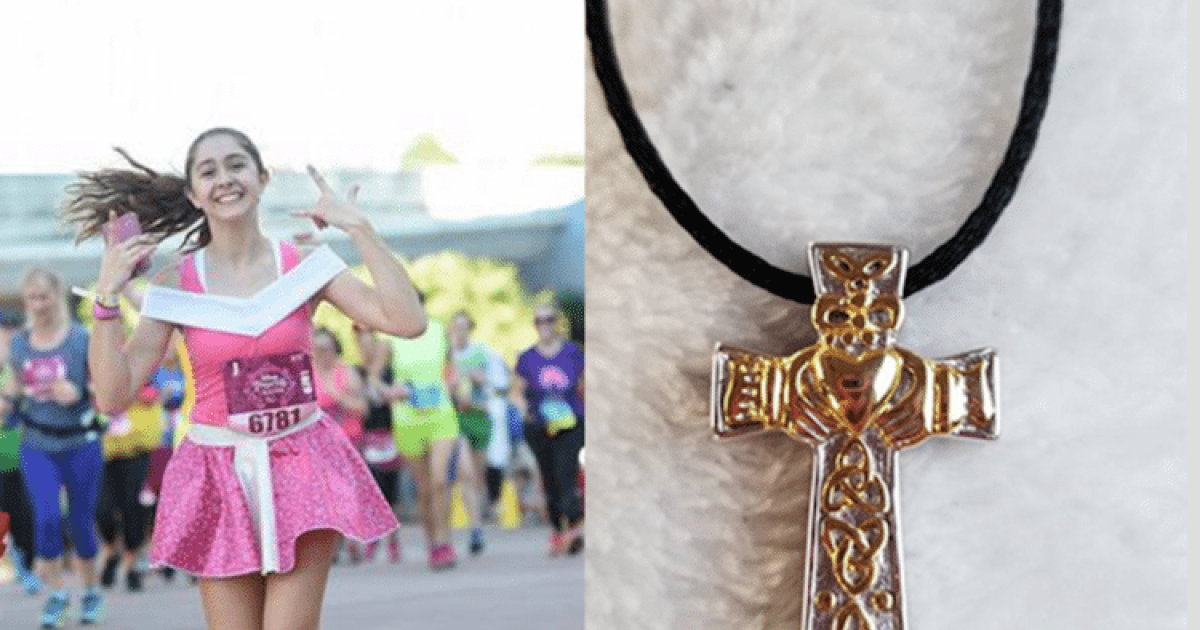 Georgia Mom Loses Necklace With Daughter's Ashes At Disney During Princess Half Marathon