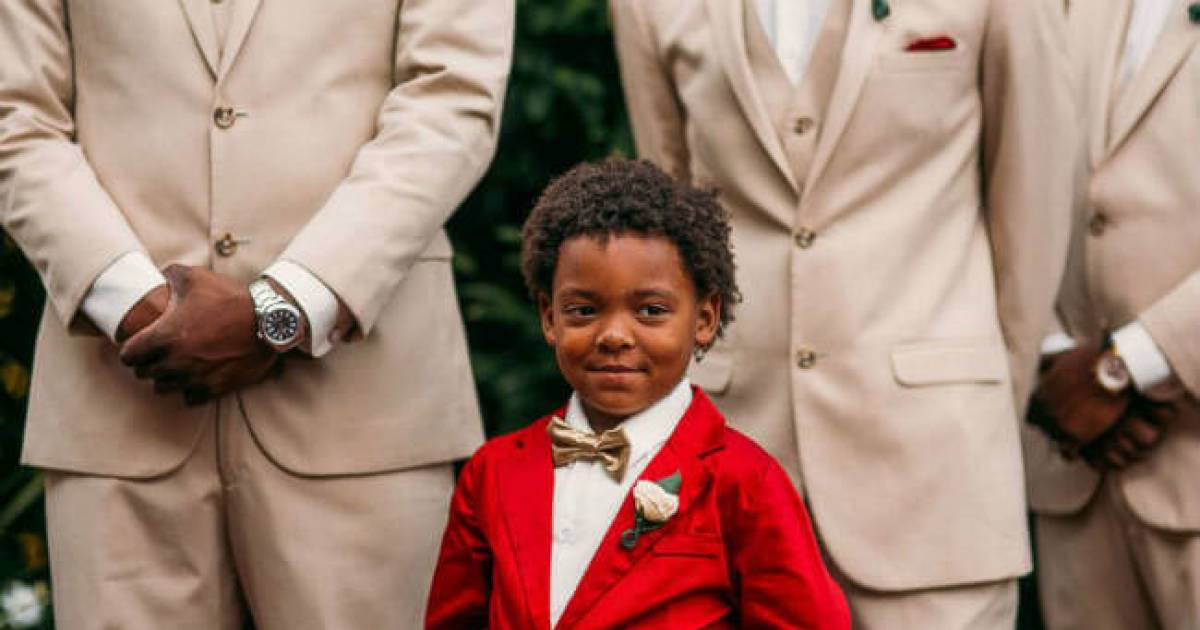 6-Year-Old's Reaction To Mom Walking Down The Aisle Will Move You To Tears
