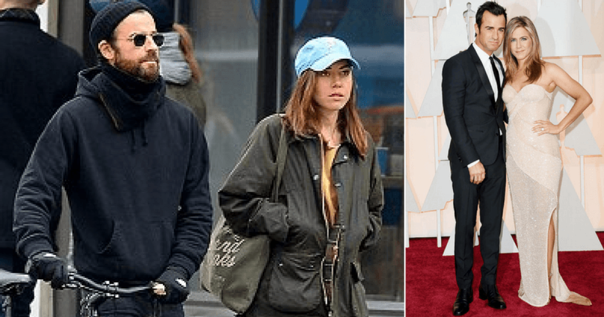 Jennifer Aniston's Ex Husband Justin Theroux Seen With Actress Aubrey Plaza And The Friends Star Seems Taken Aback
