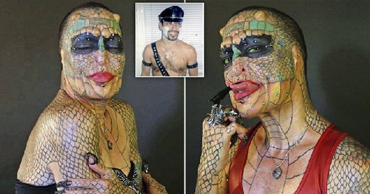 Transgender Woman Spends $60,000 On Plastic Surgery To Look Like Dragon