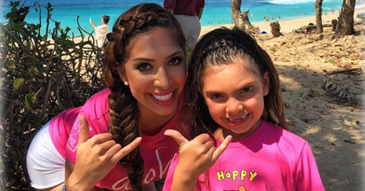 Teen Mom Star Farrah Abraham Slammed For Letting Her Nine-Year-Old Daughter Watch Her Getting Butt Injections