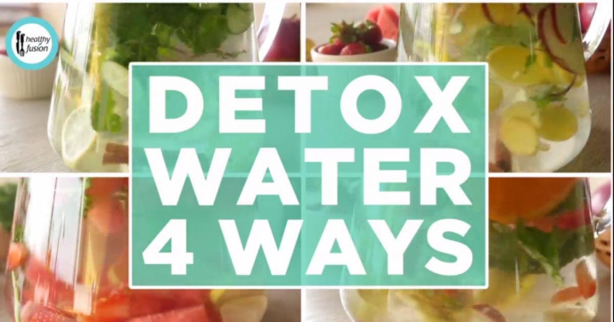 4 Amazing Detox Water Recipes For Weight Loss And Glowing Skin