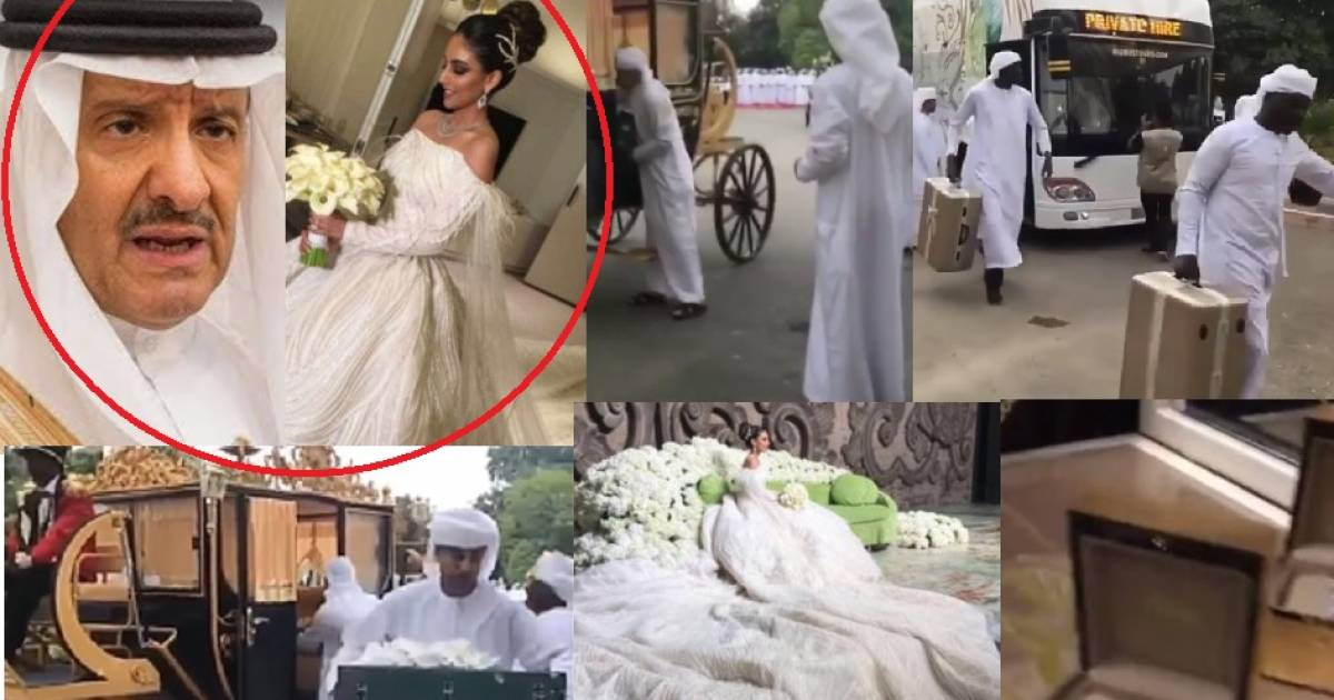 68-Year-Old Saudi Prince Marries 25-Year-Old In A Grand Lavish Ceremony, Pays $50m To The Bride For The Marriage To Happen