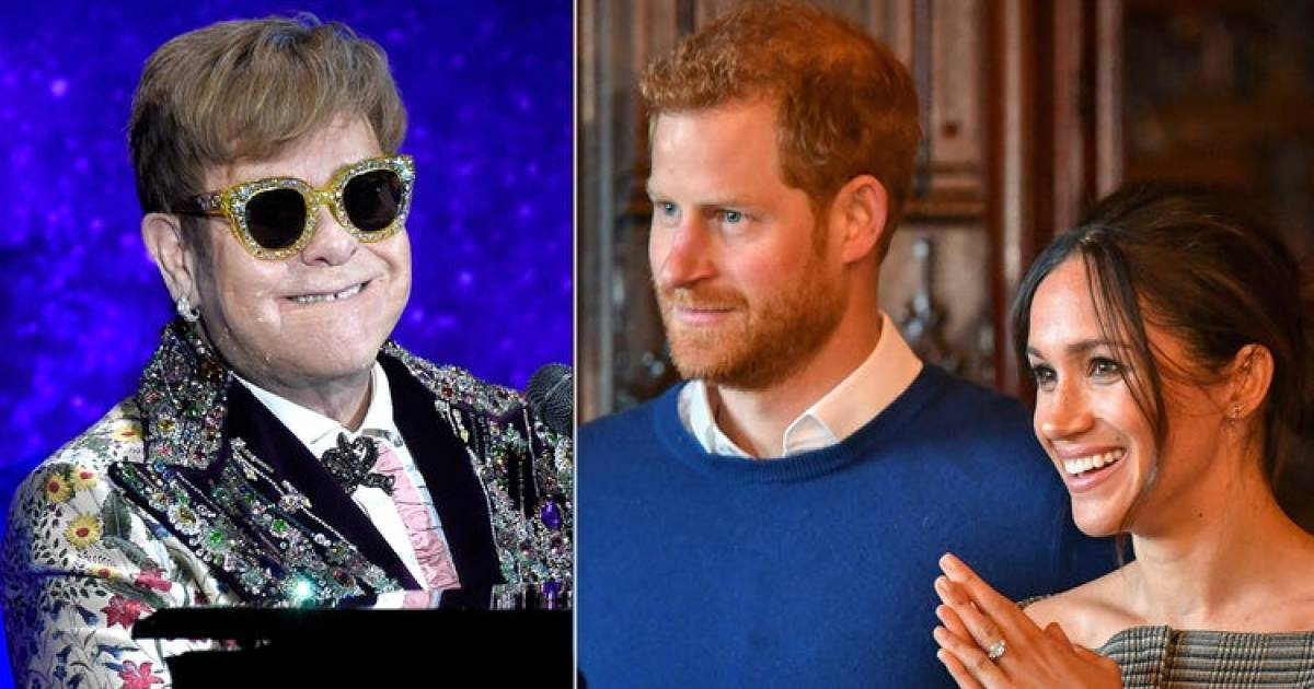 Sir John Elton Will Be Reportedly Performing At Prince Harry And Meghan Markle's Royal Wedding