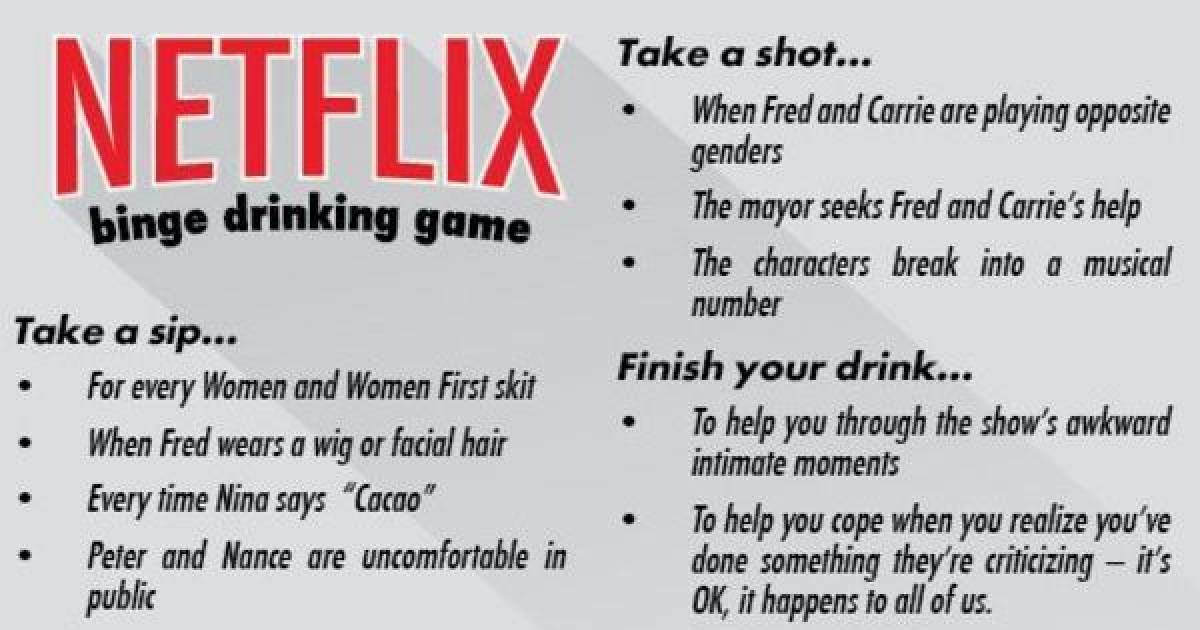 Check Out These TV And Movie Drinking Games