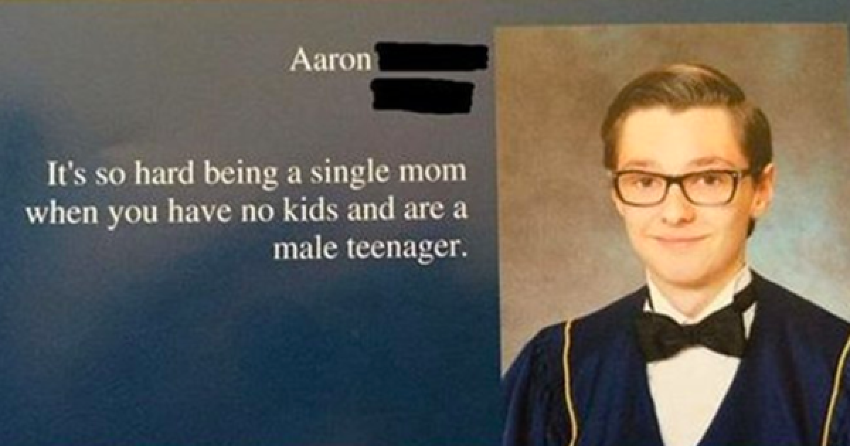 These Senior Yearbook Quotes Are Pure Gold