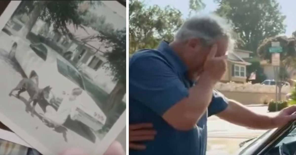 Son Buys His Dad His Dream Car, 1965 Chevy, Which He Sold Over 20 Years Ago