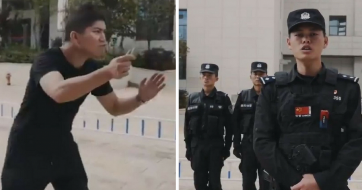 Chinese Police Become Internet Famous With Viral Video For Its Unexpected Tip