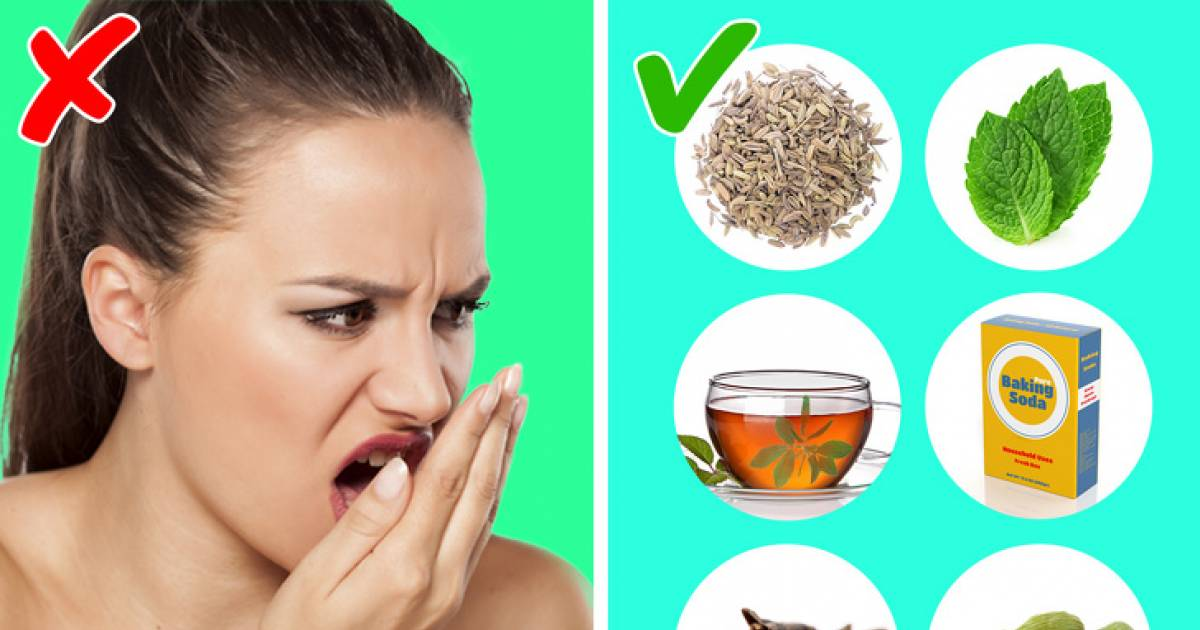 Natural Ways To Kill Bacteria In Your Mouth And Get Rid Of Bad Breath