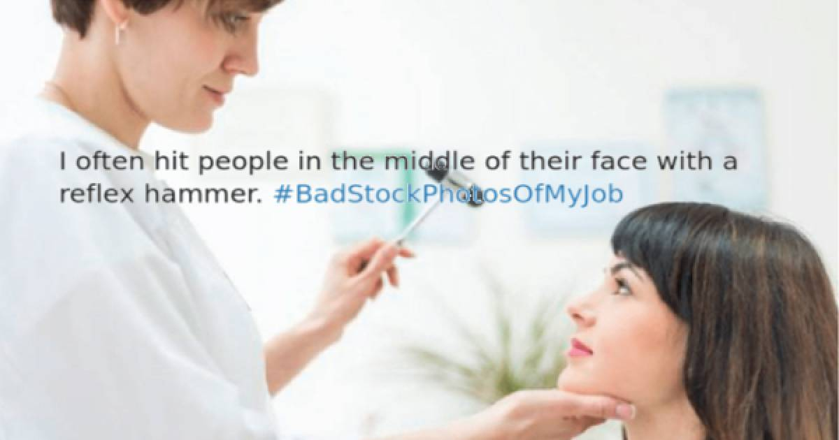 The Hashtag #BadStockPhotosOfMyJob Is The Best Thing That Has Been On The Internet In A Long Time