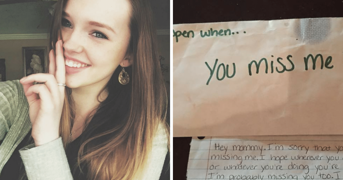 Losing Teenage Daughter In An Accident, Grieving Mom Finds Solace In Letters Daughter Wrote Her On Her Previous Birthday