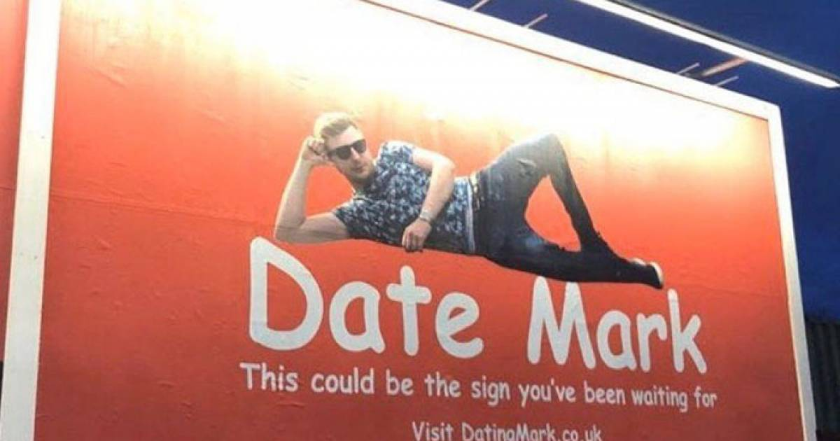 30-Year Old Man Buys Himself A Billboard And Urges Women To Date Him By Applying Through A Website