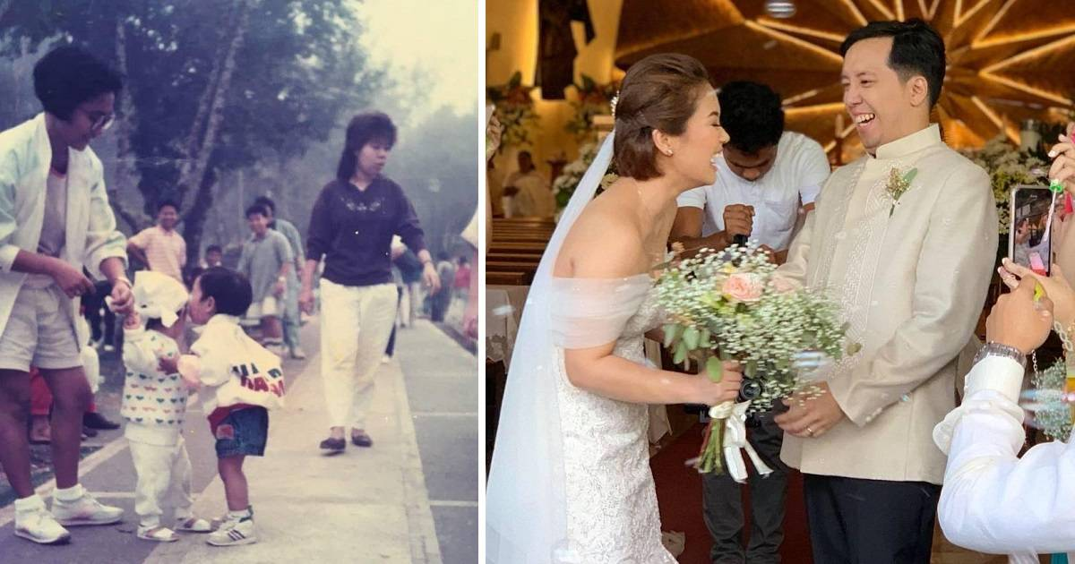 Young Boy Who Kissed A Random Girl In Baguio City, Both Get Married 30 Years Later