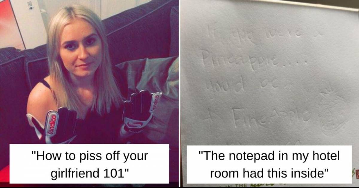 These Pictures Are Proof That Some People Cannot Be Trusted With Anything