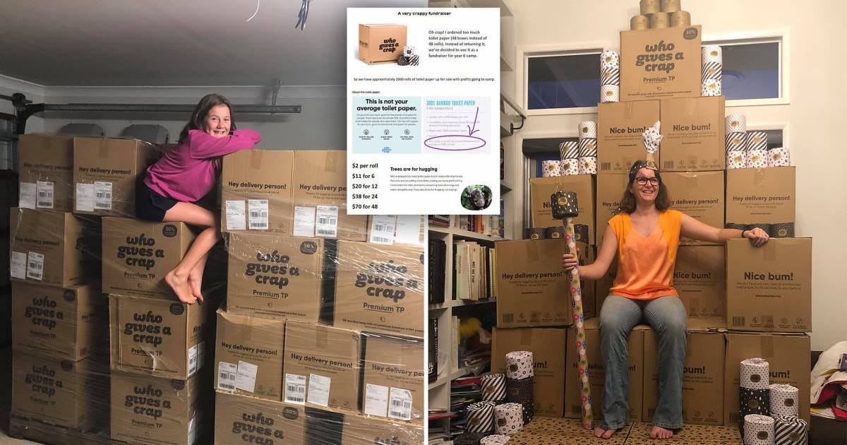 Australian Couple Accidentally Orders 2000 Toilet Rolls Amid Coronavirus Panic, Builds Themselves A Fake Throne