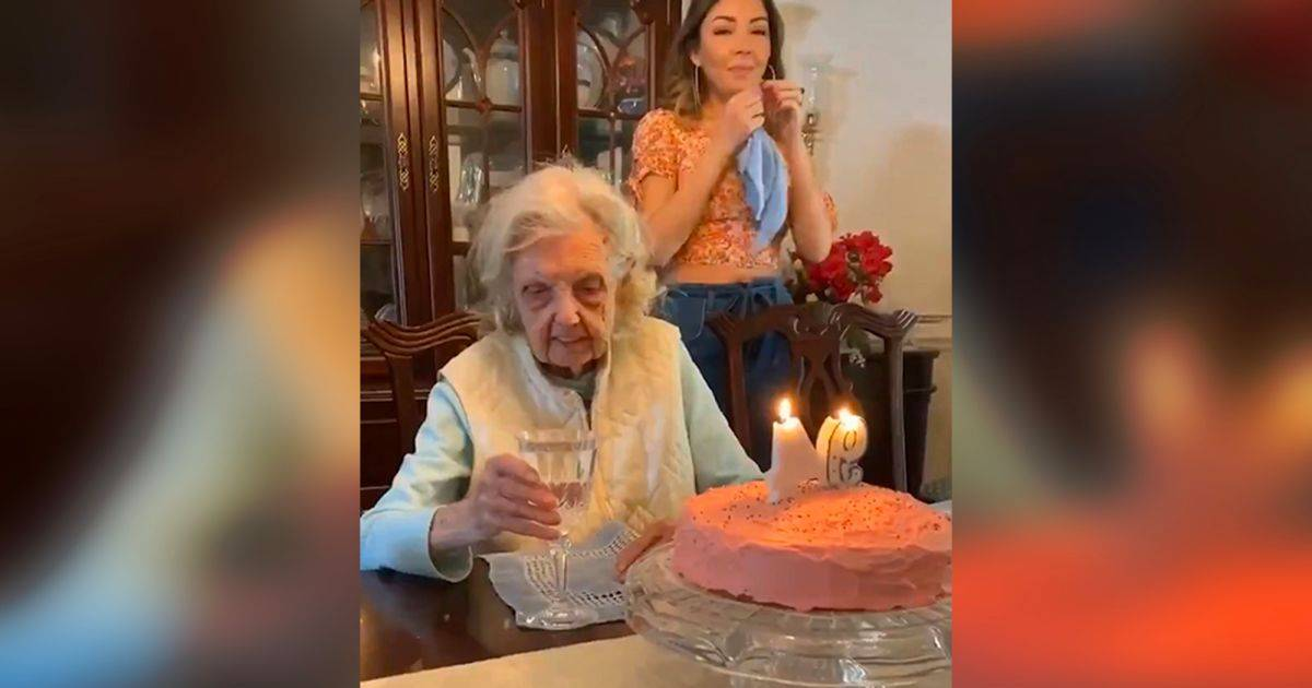 Grandma Celebrating Her 94th Birthday Becomes Viral For Making A Very Unique Wish