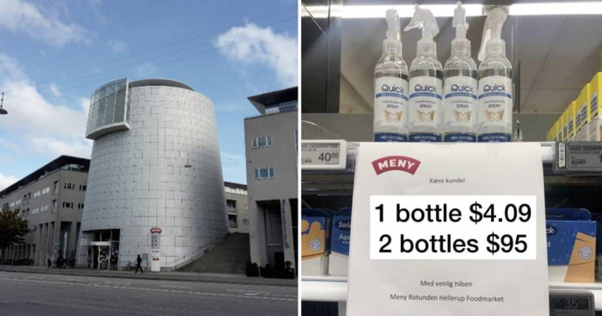 Supermarket In Denmark Comes Up With A Genius Hack To Tackle Hand Sanitizer Hoarders